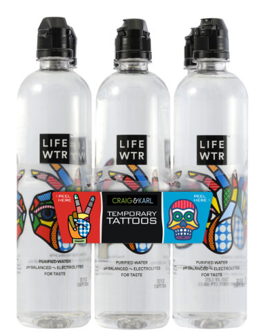 Hi-Cone LifeWater Label Design