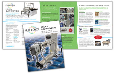 INNOVA Quilting Systems 6 page brochure