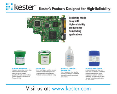 Kester Banner High Reliability