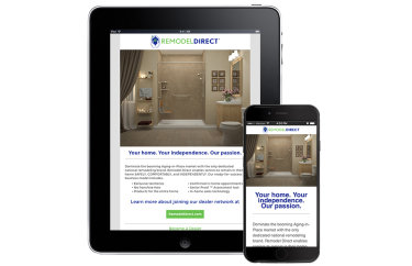Remodel Direct Responsive eMail Design